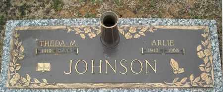 JOHNSON, THEDA M. - Faulkner County, Arkansas | THEDA M. JOHNSON - Arkansas Gravestone Photos
