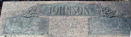 JOHNSON, VERIL C. - Faulkner County, Arkansas | VERIL C. JOHNSON - Arkansas Gravestone Photos