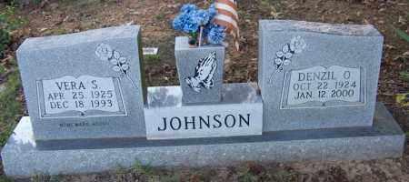 JOHNSON, DENZIL O. - Faulkner County, Arkansas | DENZIL O. JOHNSON - Arkansas Gravestone Photos