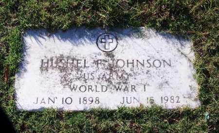 JOHNSON (VETERAN WWI), HUSHEL P - Faulkner County, Arkansas | HUSHEL P JOHNSON (VETERAN WWI) - Arkansas Gravestone Photos