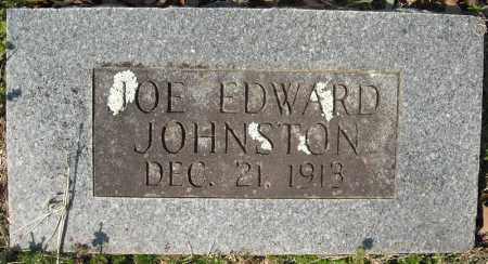 JOHNSTON, JOE EDWARD - Faulkner County, Arkansas | JOE EDWARD JOHNSTON - Arkansas Gravestone Photos