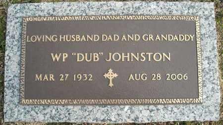 "JOHNSTON, W.P. ""DUB"" - Faulkner County, Arkansas   W.P. ""DUB"" JOHNSTON - Arkansas Gravestone Photos"
