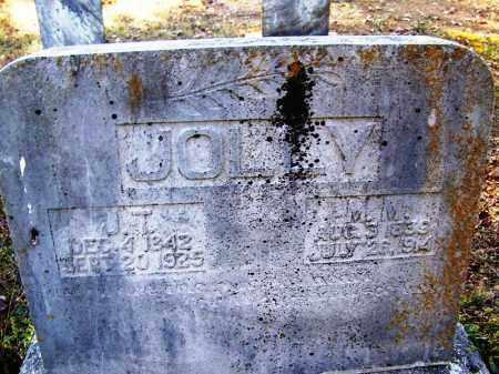 JOLLY, J.T. - Faulkner County, Arkansas   J.T. JOLLY - Arkansas Gravestone Photos