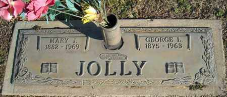 JOLLY, MARY J. - Faulkner County, Arkansas | MARY J. JOLLY - Arkansas Gravestone Photos