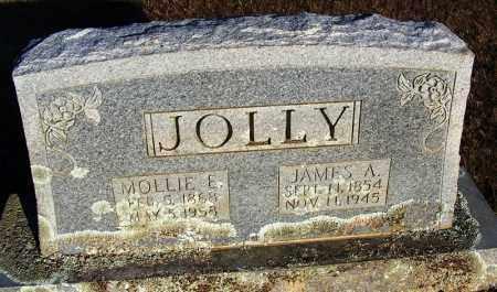 JOLLY, JAMES A. - Faulkner County, Arkansas | JAMES A. JOLLY - Arkansas Gravestone Photos