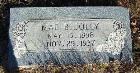 JOLLY, MAE B. - Faulkner County, Arkansas | MAE B. JOLLY - Arkansas Gravestone Photos