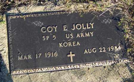 JOLLY (VETERAN KOR), COY E - Faulkner County, Arkansas | COY E JOLLY (VETERAN KOR) - Arkansas Gravestone Photos