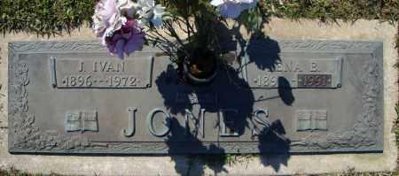 JONES, J. IVAN - Faulkner County, Arkansas | J. IVAN JONES - Arkansas Gravestone Photos
