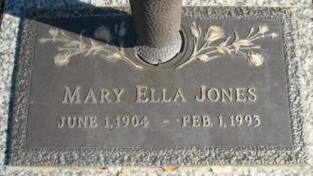 JONES, MARY ELLA - Faulkner County, Arkansas | MARY ELLA JONES - Arkansas Gravestone Photos