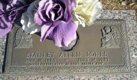 JONES, STANLEY ALLEN - Faulkner County, Arkansas | STANLEY ALLEN JONES - Arkansas Gravestone Photos