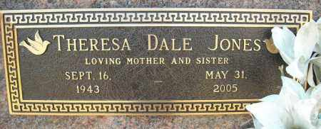 JONES, THERESA - Faulkner County, Arkansas | THERESA JONES - Arkansas Gravestone Photos