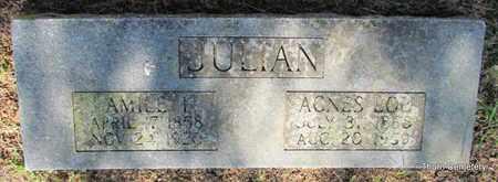 JULIAN, AMILE I. - Faulkner County, Arkansas | AMILE I. JULIAN - Arkansas Gravestone Photos