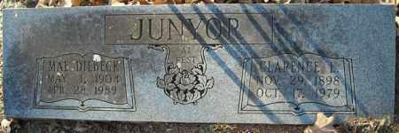 DILBECK JUNYOR, MAE - Faulkner County, Arkansas | MAE DILBECK JUNYOR - Arkansas Gravestone Photos