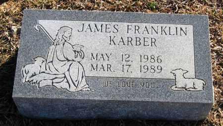 KARBER, JAMES FRANKLIN - Faulkner County, Arkansas | JAMES FRANKLIN KARBER - Arkansas Gravestone Photos