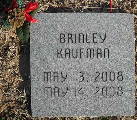 KAUFMAN, BRINLEY - Faulkner County, Arkansas   BRINLEY KAUFMAN - Arkansas Gravestone Photos