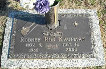 "KAUFMAN, RODNEY ""ROD"" - Faulkner County, Arkansas 