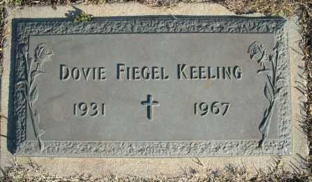 KEELING, DOVIE - Faulkner County, Arkansas | DOVIE KEELING - Arkansas Gravestone Photos