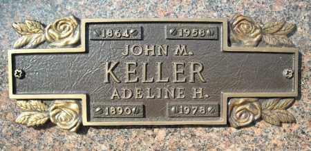 KELLER, JOHN M. - Faulkner County, Arkansas | JOHN M. KELLER - Arkansas Gravestone Photos