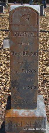 KELSEY, MARY A. - Faulkner County, Arkansas   MARY A. KELSEY - Arkansas Gravestone Photos