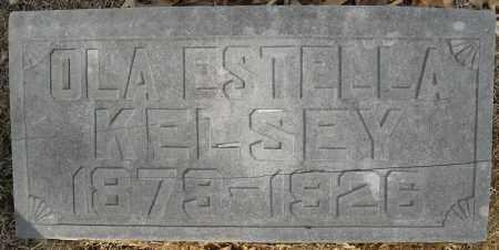 KELSEY, OLA ESTELLA - Faulkner County, Arkansas | OLA ESTELLA KELSEY - Arkansas Gravestone Photos