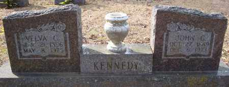 KENNEDY, VELVA C. - Faulkner County, Arkansas   VELVA C. KENNEDY - Arkansas Gravestone Photos
