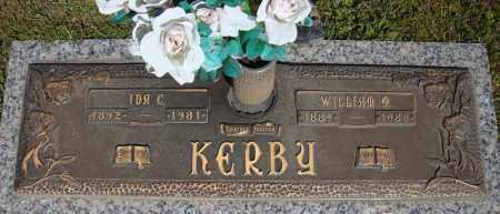 KERBY, WILLIAM M. - Faulkner County, Arkansas | WILLIAM M. KERBY - Arkansas Gravestone Photos