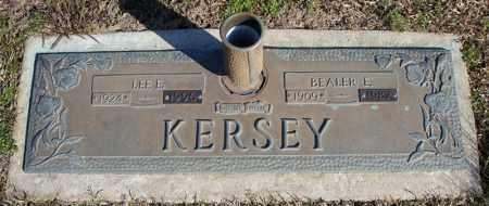 KERSEY, BEALER E. - Faulkner County, Arkansas | BEALER E. KERSEY - Arkansas Gravestone Photos