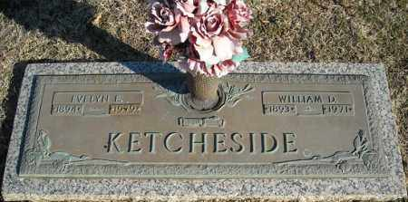 KETCHESIDE, WILLIAM D. - Faulkner County, Arkansas | WILLIAM D. KETCHESIDE - Arkansas Gravestone Photos