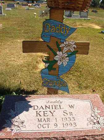 KEY, SR, DANIEL W. - Faulkner County, Arkansas | DANIEL W. KEY, SR - Arkansas Gravestone Photos