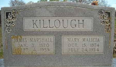 KILLOUGH, MARY MALICIA - Faulkner County, Arkansas | MARY MALICIA KILLOUGH - Arkansas Gravestone Photos