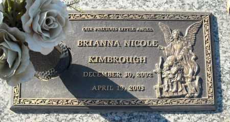 KIMBROUGH, BRIANNA NICHOLE - Faulkner County, Arkansas | BRIANNA NICHOLE KIMBROUGH - Arkansas Gravestone Photos