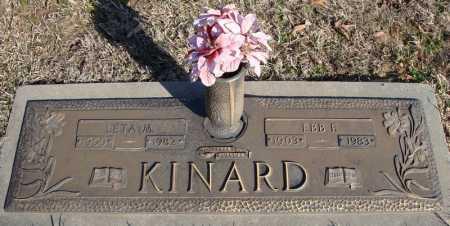 KINARD, EBB F. - Faulkner County, Arkansas | EBB F. KINARD - Arkansas Gravestone Photos