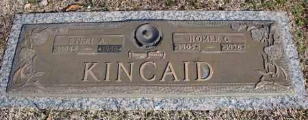 KINCAID, ETHEL A. - Faulkner County, Arkansas | ETHEL A. KINCAID - Arkansas Gravestone Photos