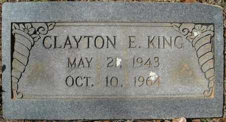 KING, CLAYTON E. - Faulkner County, Arkansas | CLAYTON E. KING - Arkansas Gravestone Photos