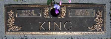 KING, JR., SAM - Faulkner County, Arkansas | SAM KING, JR. - Arkansas Gravestone Photos