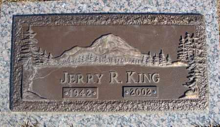 KING, JERRY R. - Faulkner County, Arkansas | JERRY R. KING - Arkansas Gravestone Photos