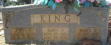 KING, RORY V. - Faulkner County, Arkansas | RORY V. KING - Arkansas Gravestone Photos