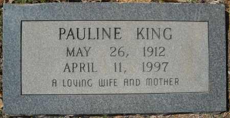 KING, PAULINE - Faulkner County, Arkansas   PAULINE KING - Arkansas Gravestone Photos