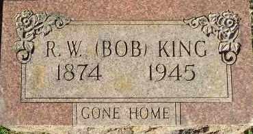 KING, R. W. (BOB) (2 STONES) - Faulkner County, Arkansas | R. W. (BOB) (2 STONES) KING - Arkansas Gravestone Photos