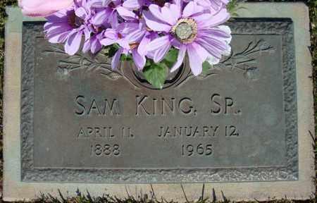 KING, SR., SAM - Faulkner County, Arkansas   SAM KING, SR. - Arkansas Gravestone Photos