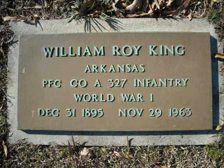 KING (VETERAN WWI), WILLIAM ROY - Faulkner County, Arkansas | WILLIAM ROY KING (VETERAN WWI) - Arkansas Gravestone Photos
