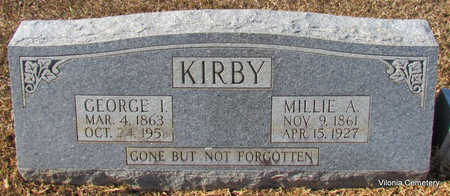 KIRBY, MILLIE A - Faulkner County, Arkansas | MILLIE A KIRBY - Arkansas Gravestone Photos