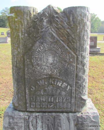 KIRBY, J.W. - Faulkner County, Arkansas   J.W. KIRBY - Arkansas Gravestone Photos