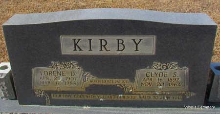 KIRBY, LORENE D - Faulkner County, Arkansas | LORENE D KIRBY - Arkansas Gravestone Photos