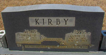 KIRBY, CLYDE S - Faulkner County, Arkansas | CLYDE S KIRBY - Arkansas Gravestone Photos