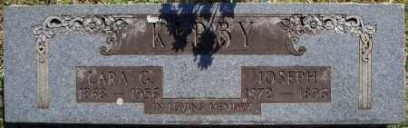 KIRBY, LARA G. - Faulkner County, Arkansas | LARA G. KIRBY - Arkansas Gravestone Photos