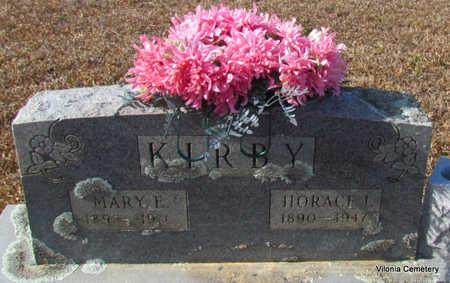 KIRBY, MARY E - Faulkner County, Arkansas | MARY E KIRBY - Arkansas Gravestone Photos