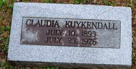 KUYKENDALL, CLAUDIA - Faulkner County, Arkansas   CLAUDIA KUYKENDALL - Arkansas Gravestone Photos