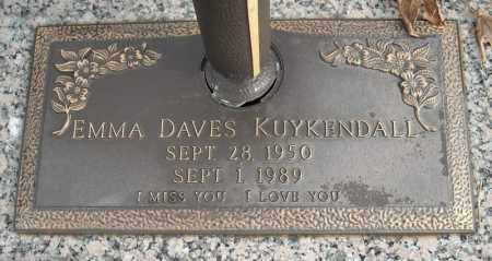 KUYKENDALL, EMMA - Faulkner County, Arkansas   EMMA KUYKENDALL - Arkansas Gravestone Photos