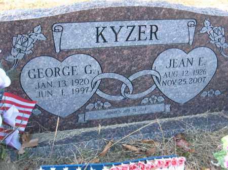 KYZER, JEAN E. - Faulkner County, Arkansas   JEAN E. KYZER - Arkansas Gravestone Photos
